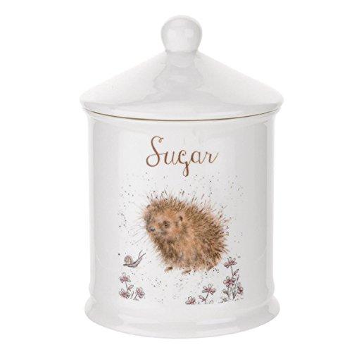 Wrendale Sugar Canister (Hedgehog) Royal Worcester Fine Porcelain