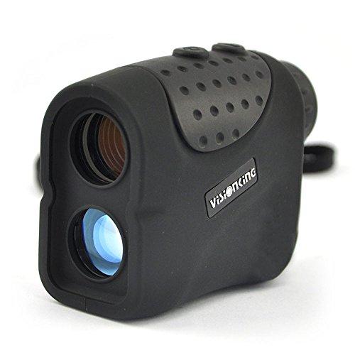 Visionking telemetro 6x 21USB integrata ricaricabile al litio telemetro laser con caccia Golf Rain Mode 1000m New (nero)