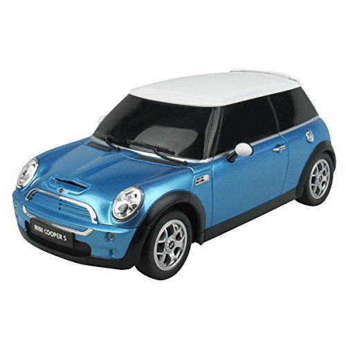 rastar-15000-voiture-radiocommandee-mini-cooper-minicoopers-miniature-echelle-124-bleu