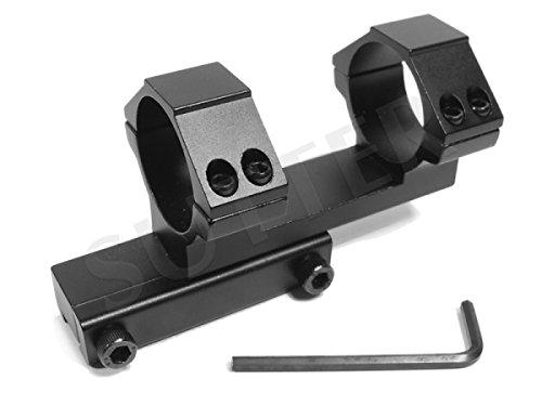 Montage lunette pour fusil coudé d=30mm - Montage pour lunettes de visée