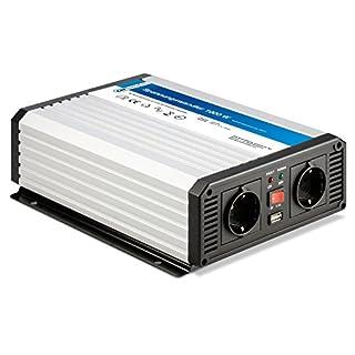 Cartrend 80298 Spannungswandler 1000 Watt Profi, 12 V auf 230 V