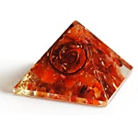 Reiki Healing Energy Charged Krystal Gifts UK Red / Orange Carnelian Crystal Chip Orgone Pyramid (2 x 2 x 2 cm... preisvergleich bei billige-tabletten.eu