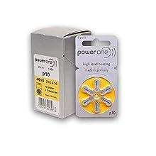 60 Stück Varta PowerOne P 10 - Hörgerätebatterie PR70-100 mAh 1,4 V