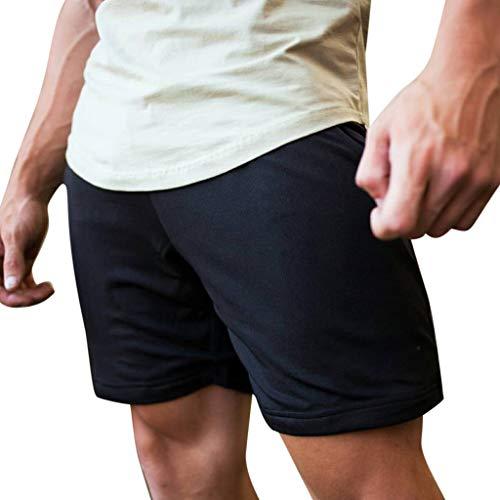 erren - Herren Brief Print Fitness BeiläUfige Kurze Hosen - Kurze Hosen Herren Sommer - Shorts Jogginghose Herren - Freizeithose Kurze Sweatpants Herren ()
