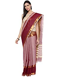 CLASSICATE From the house of Classicate From The House Of The Chennai Silks - Pure Venkatagiri Cotton Saree - Dusky Orchid Purple - (CCMYSC9357)
