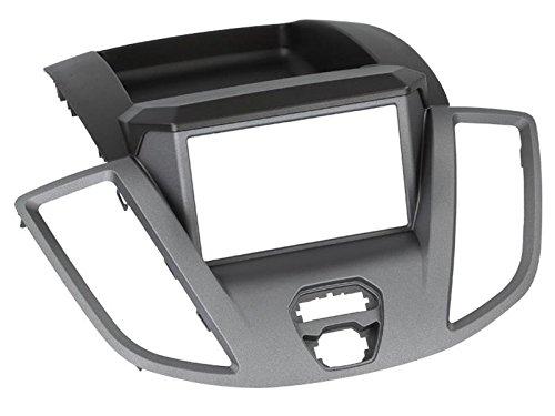 Ford-Transit-V363-ab-14-2-DIN-Autoradio-Navigation-und-Einbauset-mit-Ford-Anschlusskabel-Antennenadapter-und-Radioblende-schwarz