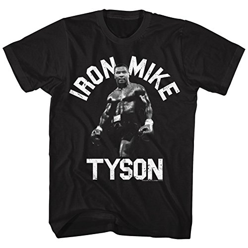 mike-tyson-t-shirt-uomo-black-xx-large