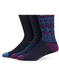 Mens 3 Waterfall Socks, Black (Black 1), One Size (Manufacturer Size: O/S) pack of 3 French Connection