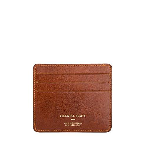 Maxwell Scott® Porte-Cartes Cuir Poche Intérieur Discrète - Cuir (Marco)