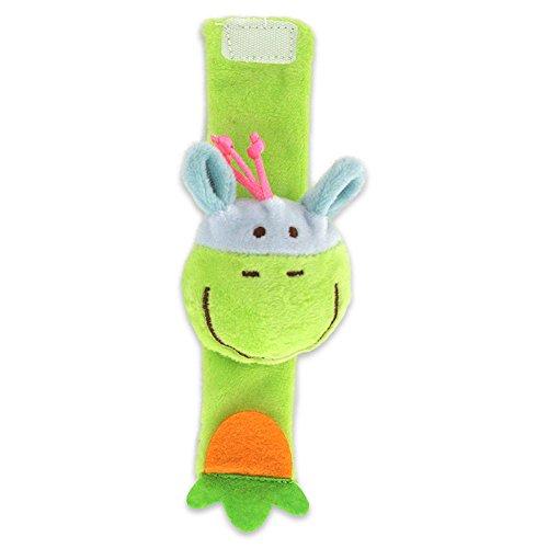 TianranRT Tier Styling Handgelenk Rassel Multi Form Weich Spielzeug Tier Baby Kleinkind Kinder Hand Handgelenk Glocken Fuß Socke Rasseln (F) - Fuß-glider