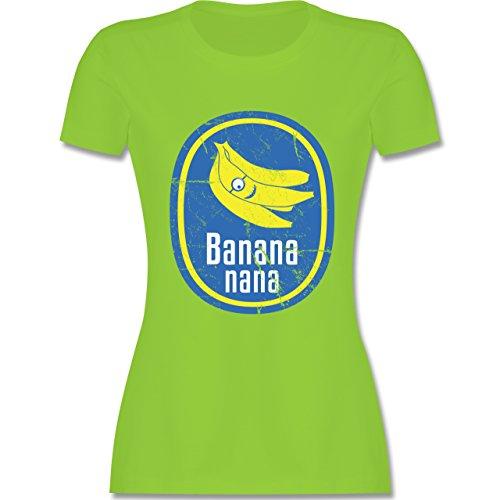 Comic Shirts - Banana nana Vintage - tailliertes Premium T-Shirt mit  Rundhalsausschnitt für Damen