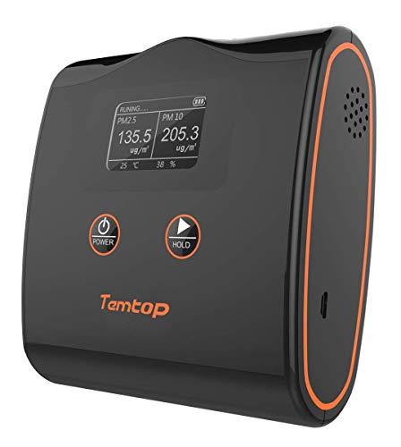 Multimessgerät-Temtop Luftqualität Messgerät (PM2.5 PM10)+ Thermometer Hygrometer