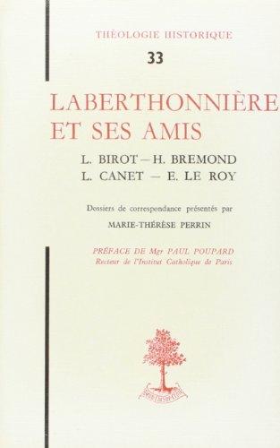 Laberthonniere et Ses Amis