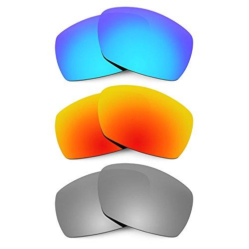 Revant Ersatzlinsen für Smith Dockside Polarisiert 3 Paar Kombipack K014