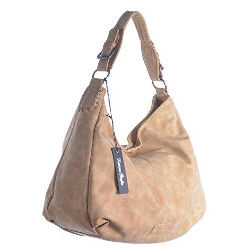 Fritzi aus Preußen Rike New York Shopper Tasche 53 cm sisal