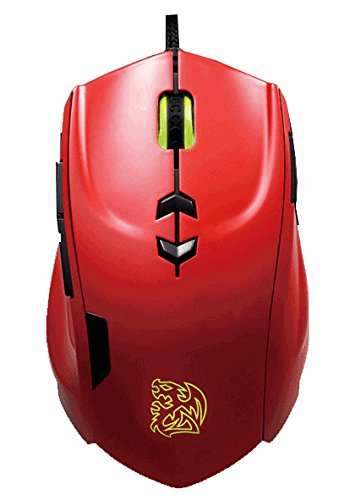 Thermaltake Ttesports Theron Souris de Jeu Blazing Red