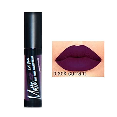 (3 Pack) L.A. GIRL Matte Pigment Gloss - Black Current