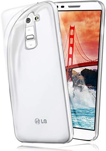 moex® Ultra-Clear Case [Vollständig Transparent] passend für LG G2 | rutschfest und extrem dünn - Fast unsichtbar, Klar (Lg G2 Handy-fall Für)