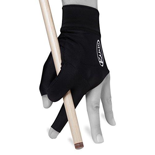 Kamui Billard Poolhandschuh für Linke Hand, Größe S, Schwarz