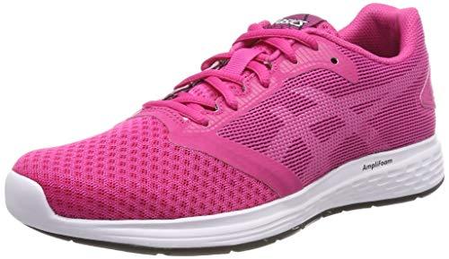 ASICS Damen Patriot 10 Laufschuhe, Pink (Fuchsia Purple/White 501), 38 EU Fuchsia Damen Schuhe