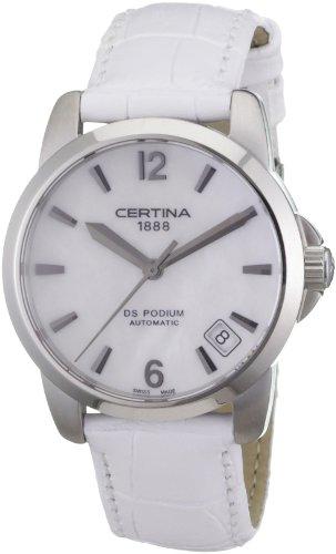 Certina Damen-Armbanduhr XS Certina DS Podium Lady Automatik Analog Leder C001.207.16.117.00