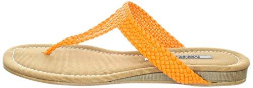 MANAS positano, Sandali donna Arancione Arancio Arancione (Arancio)