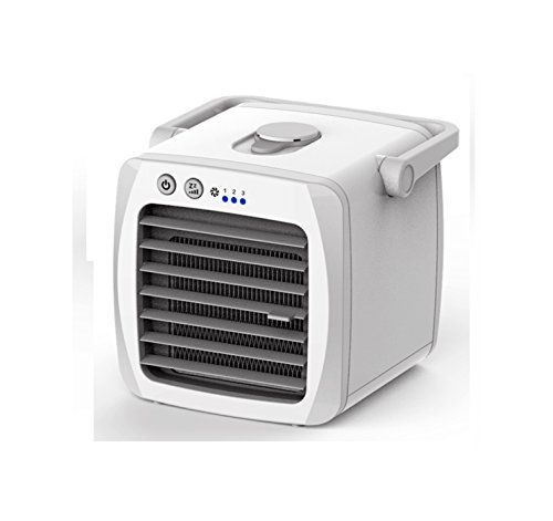 Preisvergleich Produktbild Moai G2T-ICE persönlicher Miniluftkühler,  beweglicher Tischplattenluftreiniger-Verdunstungslüfter,  weiß