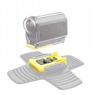 MASUNN 2Pcs Klebe Halterungen Steck Schnalle Für Sony Action Cam Vct-Am1 Camera