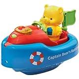 Vtech Baby – Captain Bear's Bathtime Boat – P'tit Bateau sur l'Eau Version Anglaise (Import UK)