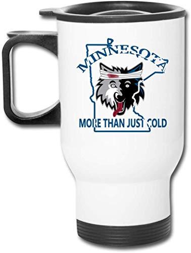 Neue maßgeschneiderte Minnesota mehr als nur kalt Basketball Team Edelstahl Auto Tassen für heißes/kaltes Getränk Kaffee oder Tee für Mans