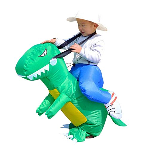Gazechimp Aufblasbare Spaßkostüm Dinosaurier Kostüm T-rex Dinosaurier Funny Straßenkarneval Halloween Party Outfit Kostüm - (Dinosaurier Reiten Kostüm Aufblasbare)