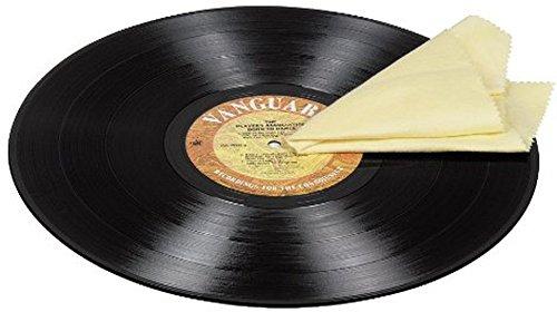 Hama Schallplatten LP Reinigungstuch Mikrofaser (auch für CD, DVD, BluRay geeignet) (Antistatik-tuch)