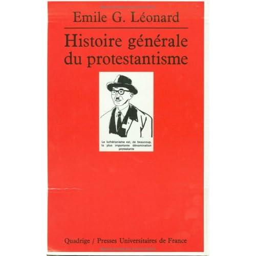 Histoire générale du protestantisme, coffret de 3 volumes