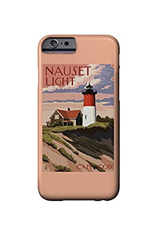 Cape Cod, Massachusetts - Nauset Light and Sunset (iPhone 6 Cell Phone Case, Slim Barely There) (Nauset Light Cape Cod)