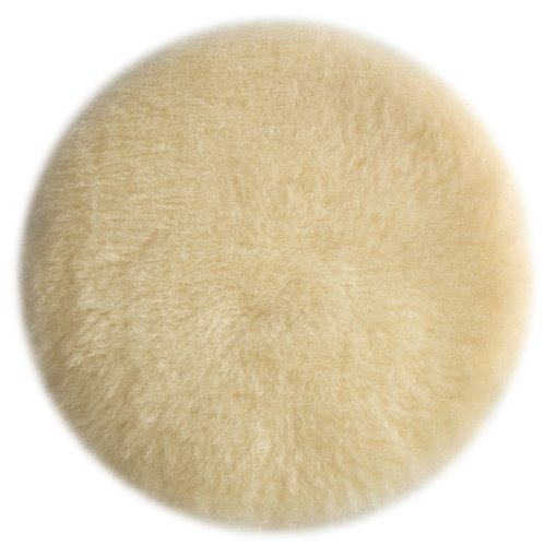 PORTER-CABLE 18007 6-Inch Lambs Wool Hook and Loop Polishing Pad by PORTER-CABLE