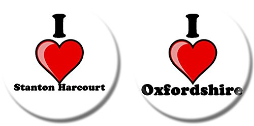 set-of-two-i-love-stanton-harcourt-fridge-magnets-oxfordshire-choice-of-sizes-25mm-38mm-38mm-1-1-2-
