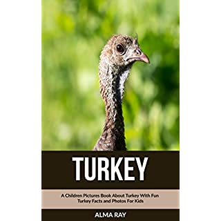Turkey: A Children Pictures Book About Turkey With Fun Seal Turkey and Photos For Kids (English Edition)