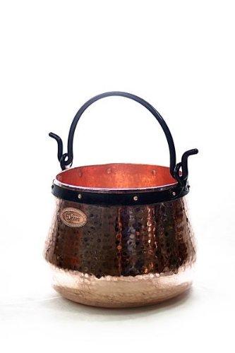 feuerzangenbowle kupfer 'CopperGarden®' Kupferkessel 20L
