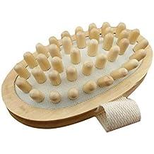 honeysuck madera masajeador de cuerpo cepillo Peine