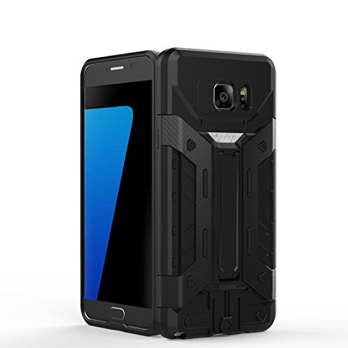 ekinhui iPhone sich 5S 5Schutzhülle, New Hybrid Rüstung Defender PC + TPU Hard Case DE Schutz [stoßfest Case] mit Schlitz Stand/Karte für iPhone sich 5S 5 Blue-Silver