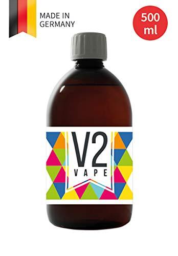 V2 Vape glicerina con la abreviatura VG para mezclar sus propias creaciones líquidas. No importa la razón de mezcla con la que quiera hacer su base, está bien equipado con el V2 Vape PG.     Tamaño del contenedor: 500 ml     V2 Vape -  Producción...