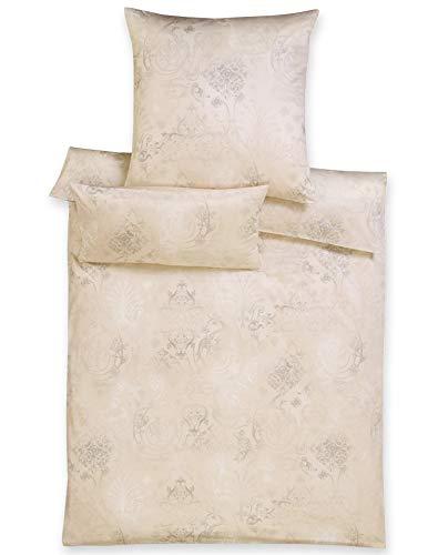 Estella Jersey Bettwäsche Gregorio sand 135x200 cm + 80x80 cm
