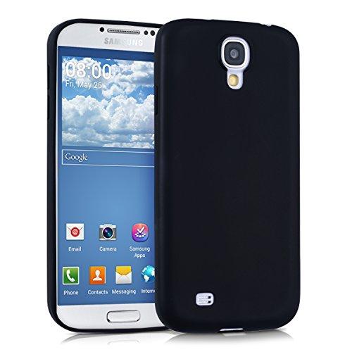kwmobile Samsung Galaxy S4 Cover - Custodia per Samsung Galaxy S4 in Silicone TPU - Backcover Protezione Nero Matt