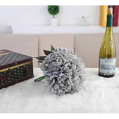 Bouquet de pivoines artificielles Accueil le parti de fleurs en soie artificielle Bouquet de fleurs roses fleurs décoratives pour mariage fleurs