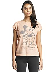 Rock Angel Mujeres Ropa superior / Camiseta Mickey Mouse