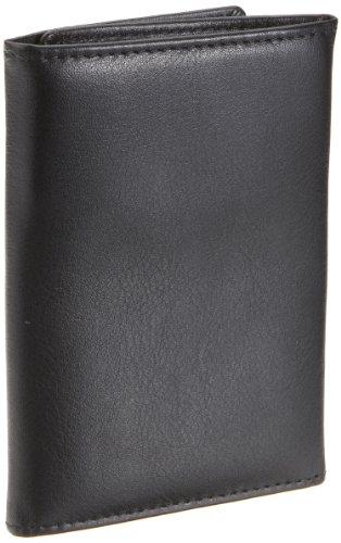 Bruno Banani Newport_4 W 320_776, Unisex - Erwachsene Portemonnaies 8x11x2 cm (B x H x T) Schwarz (Schwarz)