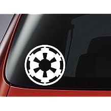 Vinyl Decal - Star Wars Empire Logo - Imperial Crest - Car, Window, Wall, Laptop Sticker by Level 33 Ltd