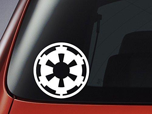 Vinyl Aufkleber-Star Wars Empire Logo-Imperial Crest-Auto, Fenster, Wand, Laptop Aufkleber (Imperial Empire-logo)