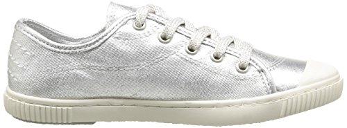 Boutchou Sneaker T Pataugas Mädchen Silber J2b FfHppq