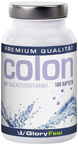 gloryfeel-colon-100-kapseln-mit-l-lysin-spirulina-chlorella-und-flohsamen-1er-pack-1-x-0085-kg